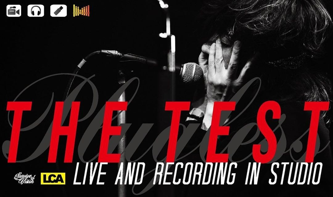 Download Kiyoharu  THE TEST Live & Recording In Studio Album
