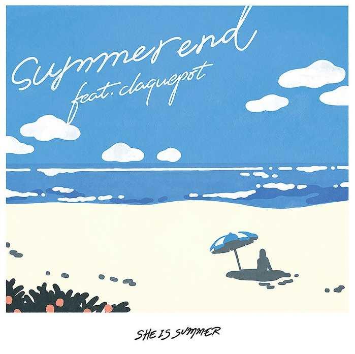 She is Summer Summer End feat. Claquepot Single Download Mp3 FLac hi res 320 kbps rar zip