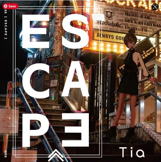 TIA ESCAPE Single Download Flac Mp3 zip rar