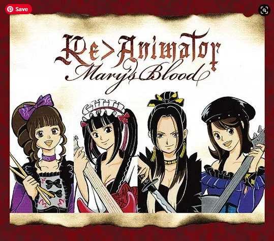Mary's Blood Re Animator Single download flac mp3 aac ziip rar