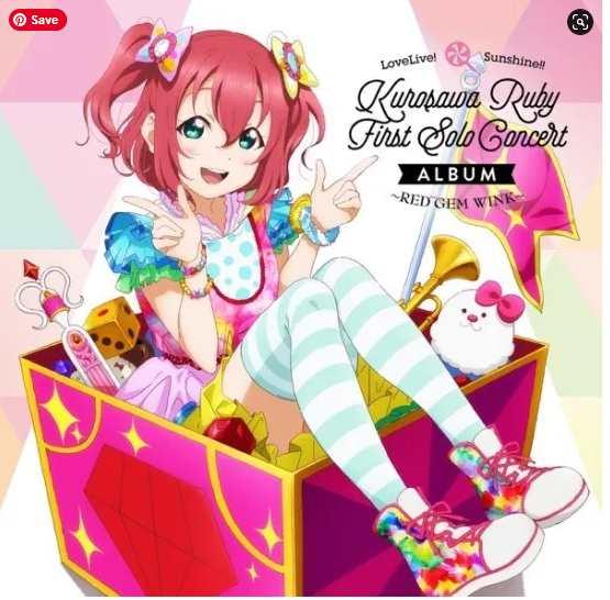 Download Single Love Live! Sunshine!! LoveLive! Sunshine!! Kurosawa Ruby First Solo Concert Album ~RED GEM WINK~ Mp3