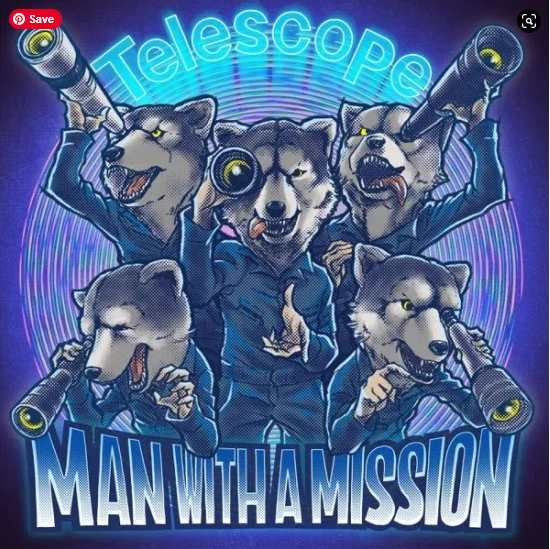 Man With A Mission Telescope single download Flac Mp3 aac zip rar
