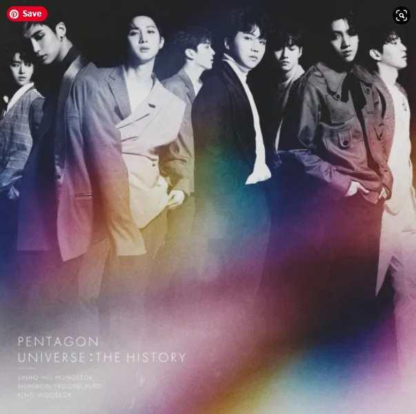 Pentagon Universe The History Album download Mp3 Flac Aac zip rar