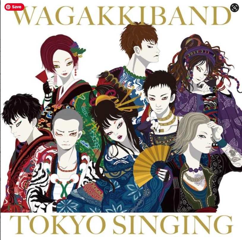 Wagakki Band TOKYO SINGING album download Flac Mp3 AAc zip rar
