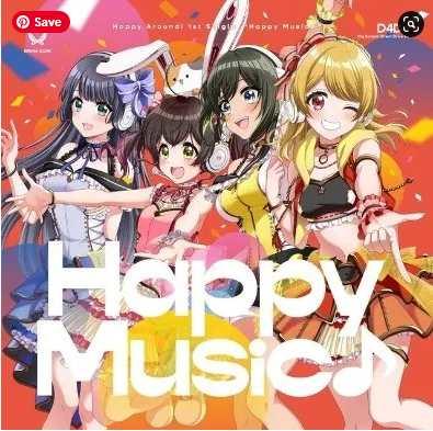 D4DJ Happy Music single download Mp3 Flac aac zip rar