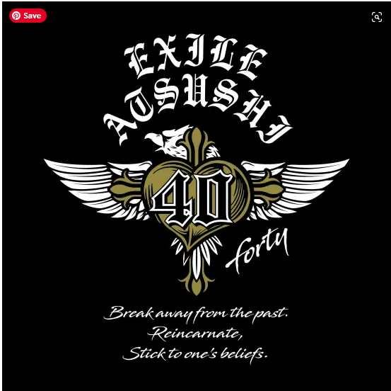 Exile Atsushi 40 Forty Original album downlod Flac mp3 aac zip rar