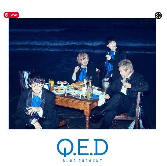 BLUE ENCOUNT Q.E.D single download Flac aac zip rar