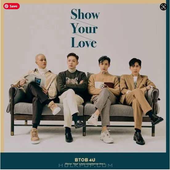 BTOB 4U Show Your Love (Japanese Version) single download Mp3 Flac aac zip rar