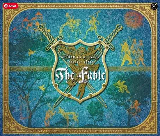 """KOTOKO – KOTOKO Anime song's complete album """"The Fable"""" Mp3 Flac aac zip rar"""