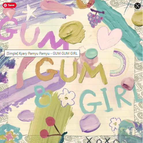 Kyary Pamyu Pamyu GUM GUM GIRL single download Flac mp3 aac