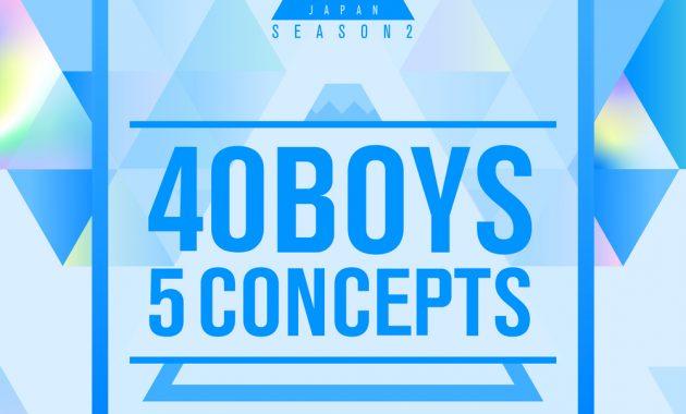 Download [Single] PRODUCE 101 JAPAN SEASON2 – 40 Boys 5 Concepts [Mp3/320Kbps/Rar] [ 2021.05.28] zip flac aac Mp3
